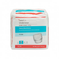 Sure Care PLUS Adult Protective Underwear - Heavy Absorbency