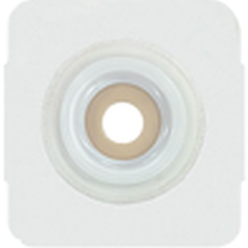 Securi-T Extended Wear Convex Pre-Cut Wafer with White Tape Collar