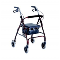 4 wheel rollator walker