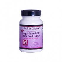 Healthy Origins Mega Natural BP Grape Seed Extract 150 mg Dietary Supplement