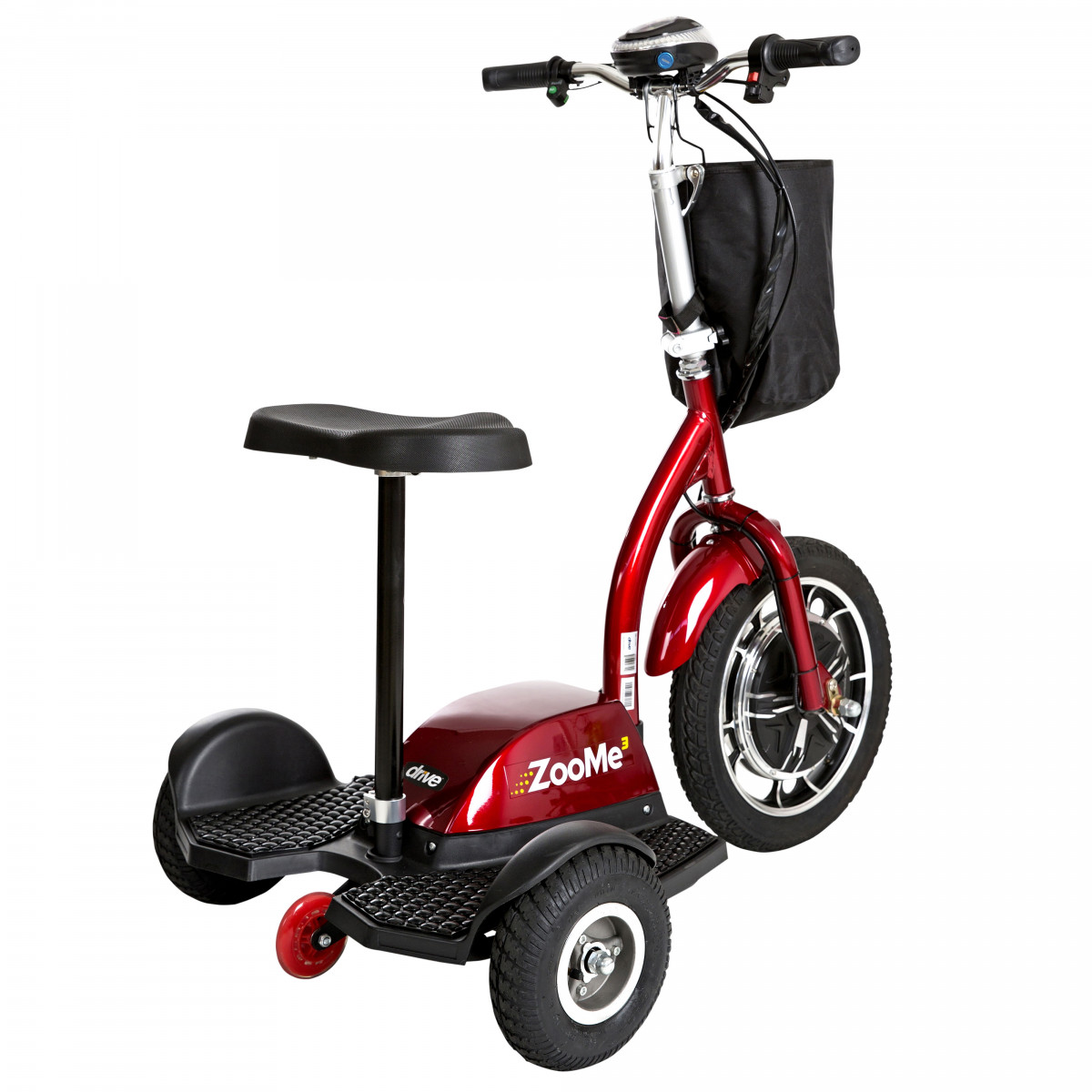 zoome 3 wheel recreational scooter bb0