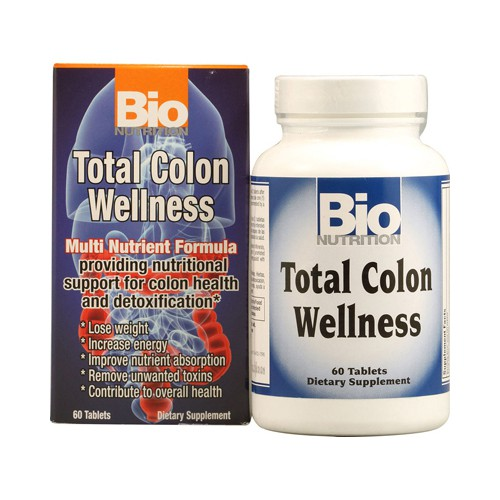 Bio Nutrition Total Colon Wellness Dietary Supplement