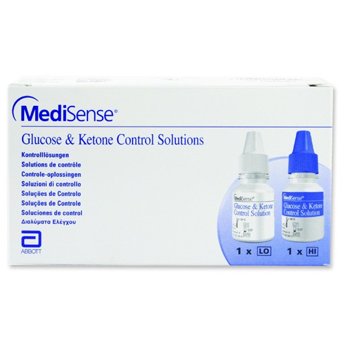 Diabetes QID Control Solution Hi/Lo by MediSense