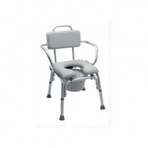 Lumex Platinum Collection Deluxe Padded Commode Bath Seat