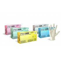 Polymed Latex Examination Gloves