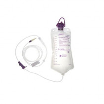 AMSure Enteral Feeding Administration Kit 1200 mL Bag Pump Set with Transition Connector