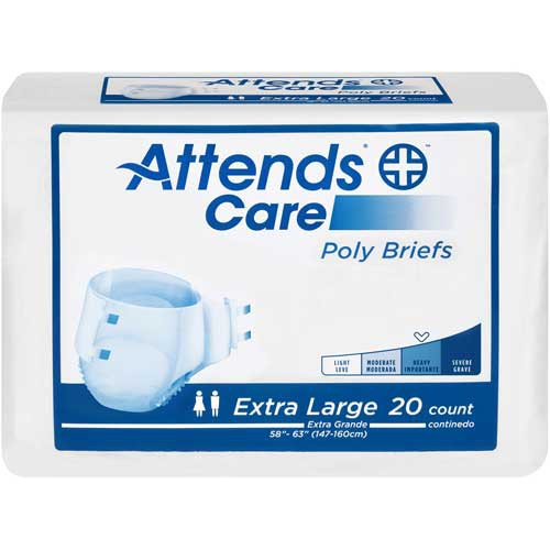 Attends Poly Briefs BUY Adult Incontinence Briefs, Attends