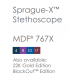 MDF Sprague-X Stethoscope Color Codes