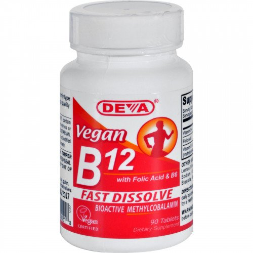 Deva Vegan B12 Sublingual