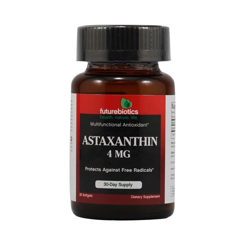 FutureBiotics Astaxanthin 4 mg Dietary Supplement