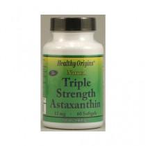 Healthy Origins Astaxanthin Triple Strength 12 mg