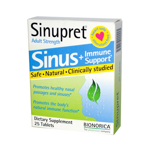 Sinupret By Bionorica Sinupret Plus for Adults