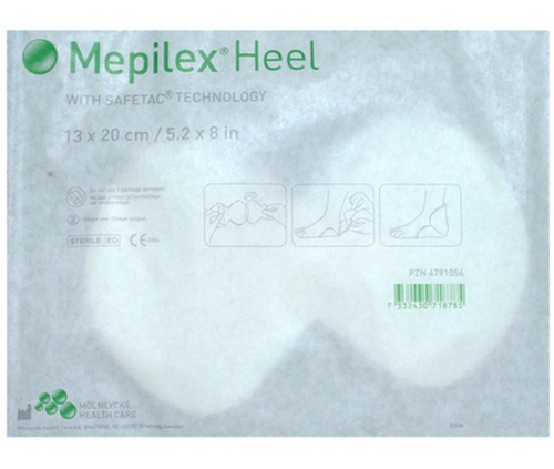 Mepilex Heel Foam Dressings By Molnlycke Vitality Medical