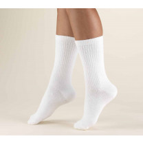 TRUFORM Men's Crew Length Athletic Socks 15-20 mmHg
