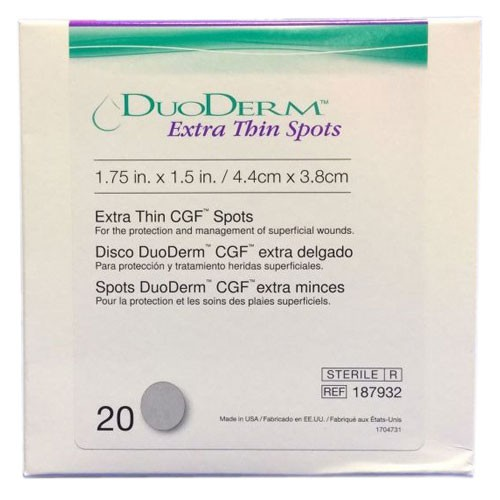 ConvaTec DuoDERM 187932 Extra Thin Oval