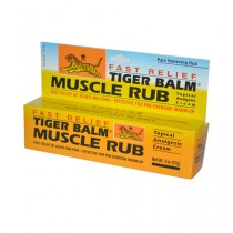 Tiger Balm Fast Relief Muscle Rub Topical Analgesic Cream