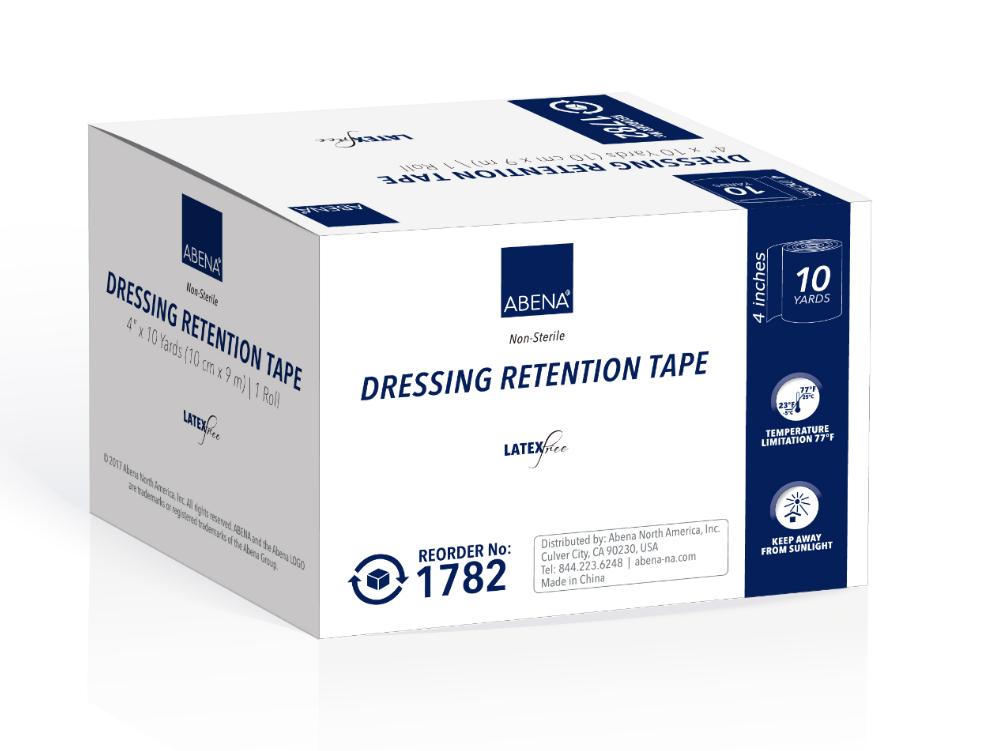 retention tapes non sterile latex free 729