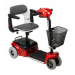Red Shoprider Scootie Compact Travel Scooter TE-787NA