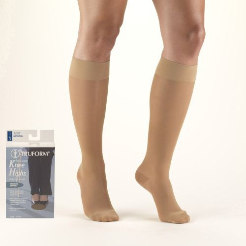 LITES Knee High Compression Stockings 15-20 mmHg