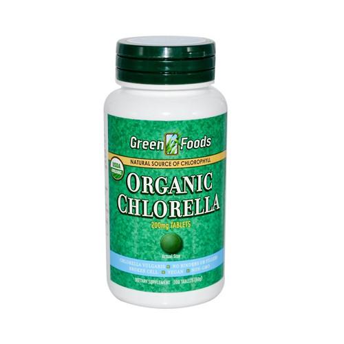 Green Foods Organic Chlorella Dietary Supplement