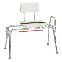 Transfer Bench with Blow Molded Seat and Back, X-Long