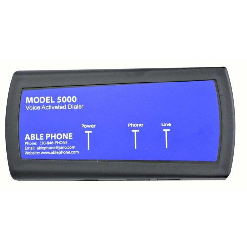 Able Phone AP5000 Voice Activated Phone Number Dialer