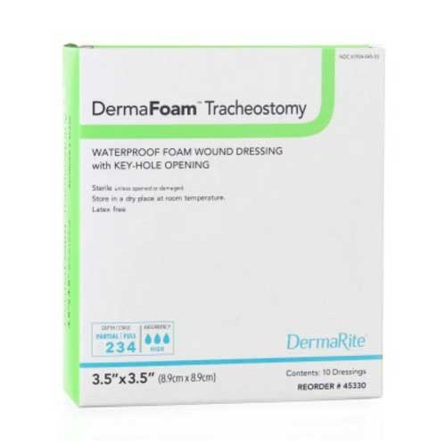 DermaFoam Tracheostomy Dressing
