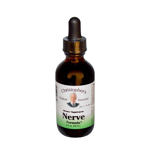 Dr Christophers Original Formulas Nerve Formula Dietary Supplement