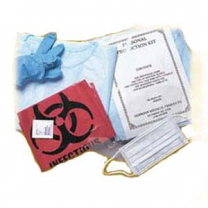 Head to Toe Personal Protection Kit with Shoe Covers and Surgical Cap