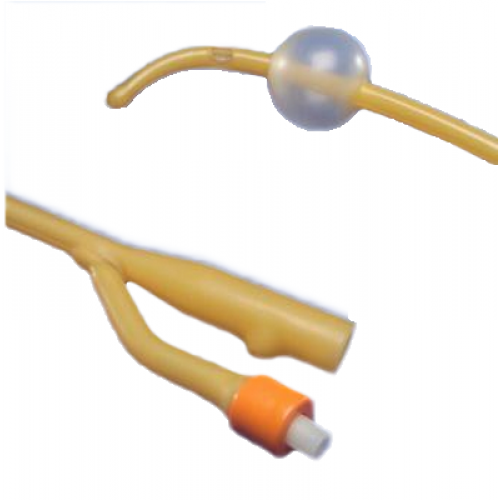 Hydrogel Coated Latex 2-Way Foley Catheters Coude Tip