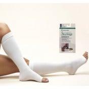 Anti-embolism Knee High Open Toe Stockings