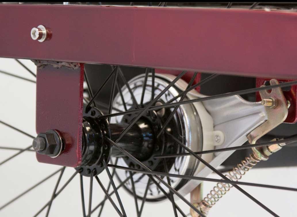 ewheels ew 29 electric trike e87