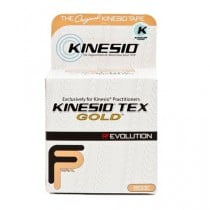 Kinesiology Tape Kinesio Tex, Gold Elastic