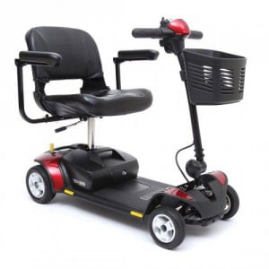 Pride Go-Go Elite Traveller 4 Wheel Mobility Scooter