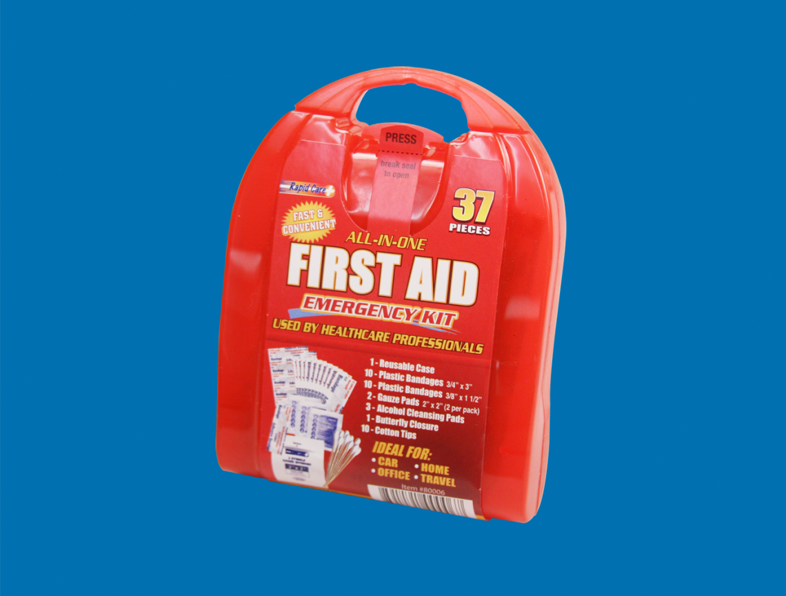 rapid care 37 piece first aid kit 5ac