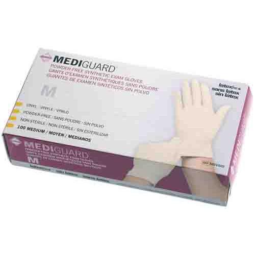 MediGuard Synthetic Exam Gloves, Latex Free