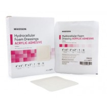 Adhesive Foam Dressing 4 x 4 Inch - Sterile