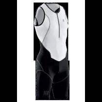 CEP Dynamic Triathlon Skinsuit White-Black