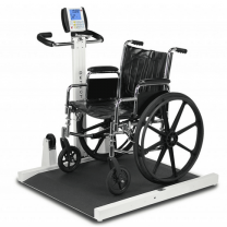 Detecto Folding Portable Wheelchair Scale 6550 Series