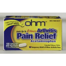 Arthritis Pain Relief Double Strength Extended Release Tablets
