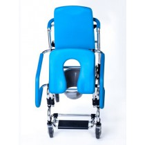 Mobile Commode Chair with Assistive Seat