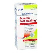 Triderma Eczema Fast Healing Cream,  2.2Oz Tube