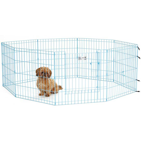 Midwest Exercise Pen with Full MAX Lock Door