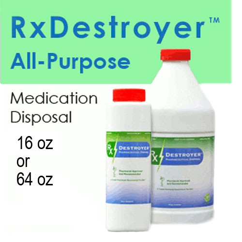 Rx Destroyer Drug Disposal