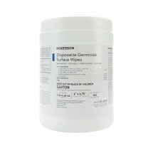 Pre-Moistened Disinfecting Wipes by McKesson