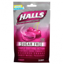 Cold and Cough Relief Halls Sugar-Free