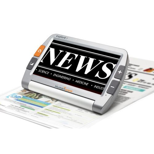 HumanWare Explore 7 Handheld Digital Magnifier