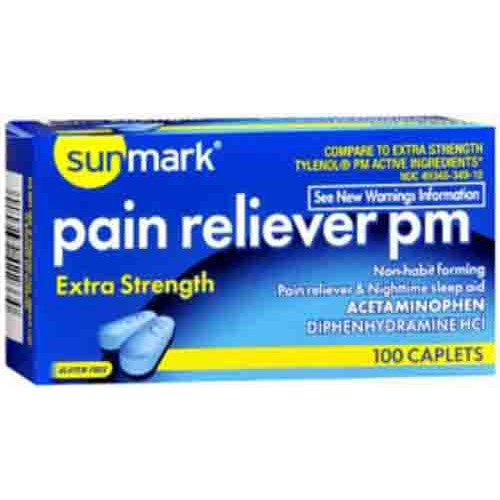 Pain Reliever PM by Sunmark