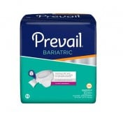 Prevail Bariatric Briefs Size B Heavy Absorbency