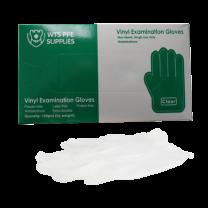 Clear Vinyl 4 Mil Exam Gloves